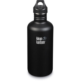 Klean Kanteen Classic Bottle Loop Cap 1182ml shale black (matt)